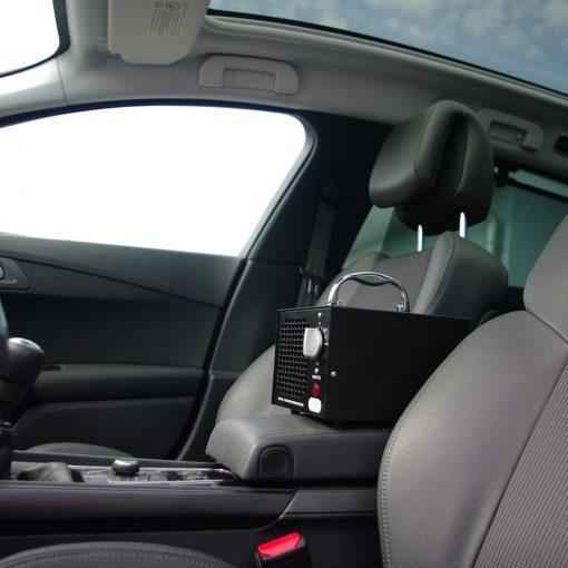 Použití ozonátoru v automobilu